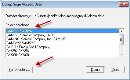 Sage 300 ERP - Database Dump 3