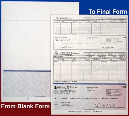 PrintBoss MICR Blank Checks