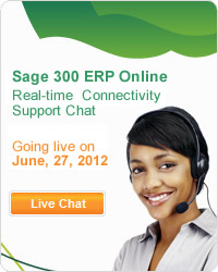Sage 300 ERP Online Connectivity Support Chat