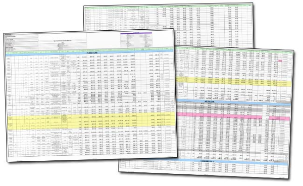 Spreadsheets for Fixed Asset Tracking