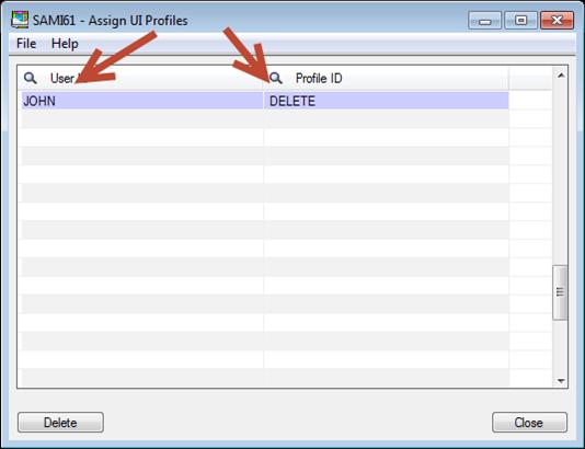 Sage 300 ERP - Assign UI Profiles