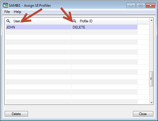 Sage 300 ERP - Assign UI Profiles