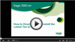 Downloading_and_Intalling_Sage_300_Tax_Updates