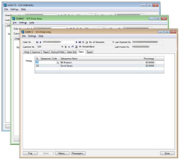 Sage 300 ERP 2012 Product Update 1 - Color Identification Enhancement