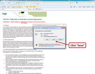 How to Download and Install a Sage 300 ERP (Accpac) Hotfix