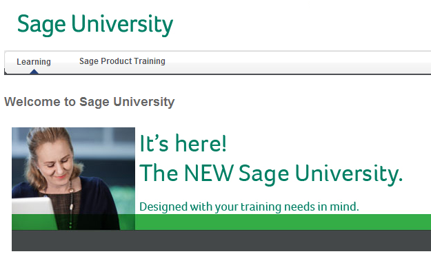 Sage Univeristy - Sage 300 ERP Training