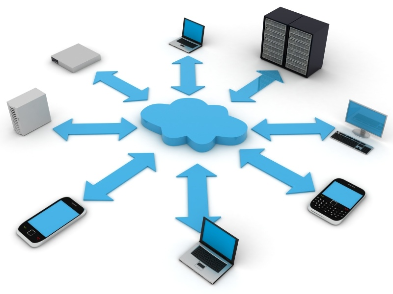 new business cloud computing diagram small