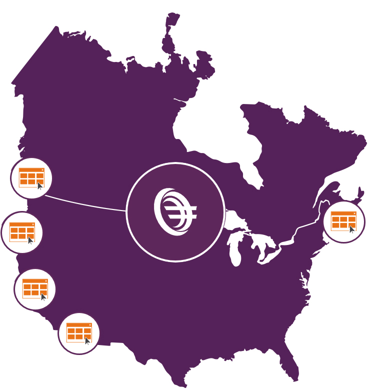 Equation Technologies Locations US and Canada