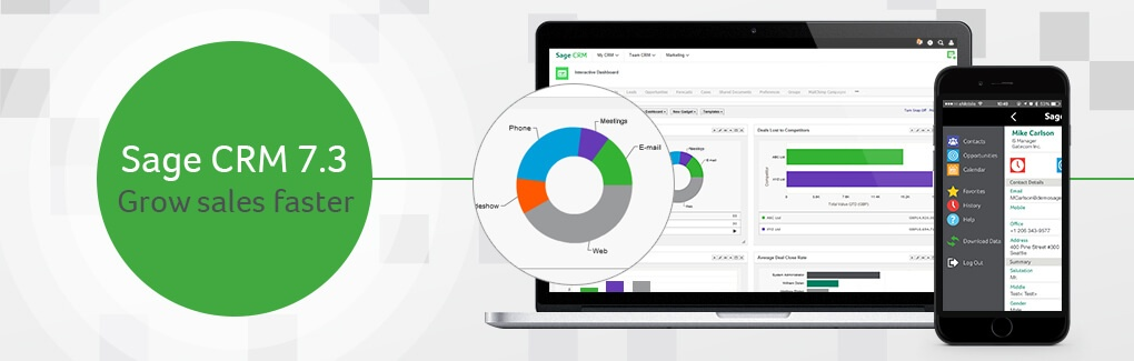 Sage CRM 7.3 - Grows business faster