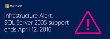 Microsoft SQL Server 2015 Extended support ending