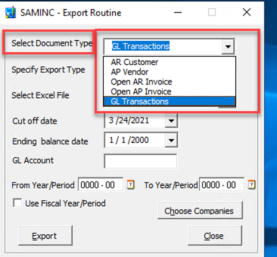 Sage 300 Accpac Intacct Data Migration Utility