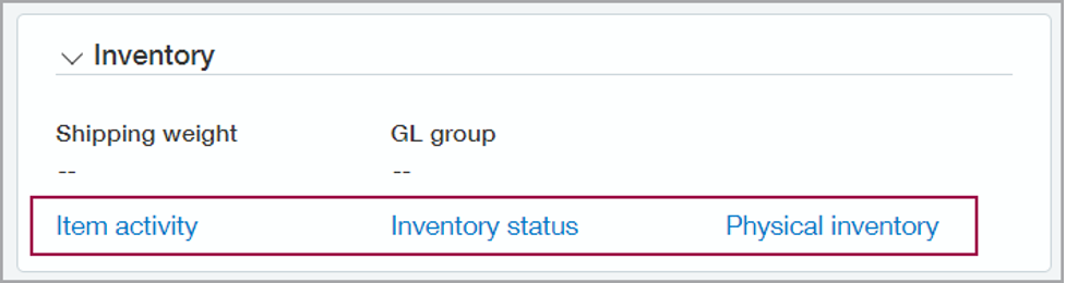 Sage Intacct 2021 R2 Inventory