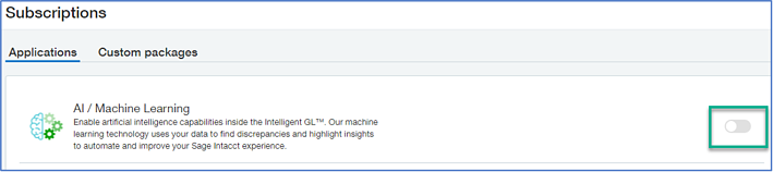 Sage Intacct GL Outlier Detection AI