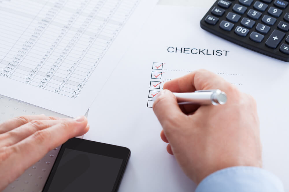 Year End Closing Checklist