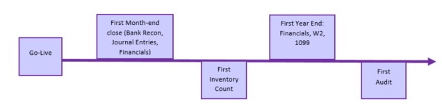 ERP Implementation Timeline